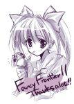 1girl food hatsune_miku ice_cream monochrome purple rei_(artist) rei_(rei's_room) solo vocaloid