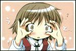 1girl hidamari_sketch school_uniform sleepy solo yuno