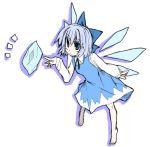 1girl cirno female lowres pangea solo the_embodiment_of_scarlet_devil touhou
