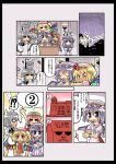 !? >_< 5girls :< :3 :d =_= apron arms_up ascot balancing bat_wings blonde_hair blush blush_stickers book bow braid bucket check_translation china_dress chinese_clothes closed_eyes comic crescent dress fang female flandre_scarlet frown hair_bow hat hat_bow herada_mitsuru holding holding_book hong_meiling izayoi_sakuya long_hair long_sleeves maid maid_apron maid_headdress multiple_girls number o_o object_hug open_mouth paper patchouli_knowledge ponytail purple_hair rain red_eyes redhead remilia_scarlet scarlet_devil_mansion short_hair short_sleeves siblings side_ponytail sidelocks silver_hair sisters smile speech_bubble star surprised sweatdrop the_embodiment_of_scarlet_devil touhou translated triangle_mouth twin_braids violet_eyes wings wrist_cuffs