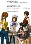 1boy 4girls book comiket cosplay furude_rika furude_rika_(cosplay) higurashi_no_naku_koro_ni houjou_satoko houjou_satoko_(cosplay) maebara_keiichi maebara_keiichi_(cosplay) multiple_girls ryuuguu_rena ryuuguu_rena_(cosplay) sketch sonozaki_mion sonozaki_mion_(cosplay) thigh-highs tomohi