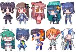 2k-tan 6+girls 95-tan 98-tan 98se-tan ahoge ascot bangs black_eyes black_hair blue_eyes blunt_bangs blush_stickers bob_cut bow braid broken brown_hair ce-tan chibi closed_eyes coat crown dos elbow_gloves everyone female glasses gloves green_hair hair_ornament hairclip horn japanese_clothes kimono leash long_hair longhorn looking_back maid maid_headdress me-tan miniskirt multiple_girls neck_ribbon nt-tan o_o one-piece_swimsuit open_mouth orange_eyes orange_hair os-tan overcoat panties pantyshot pocket_watch ponytail purple_hair red_eyes ribbon short_hair simple_background skirt smile smoke socks standing swimsuit swimsuit_under_clothes thigh-highs twin_braids twintails underwear usb very_long_hair watch white_background xp-tan
