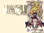 akamatsu_ken card card_(medium) evangeline_a_k_mcdowell mahou_sensei_negima! pactio vampire wallpaper