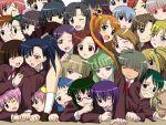 6+girls aisaka_sayo akashi_yuuna asakura_kazumi ayase_yue blonde_hair bun_cover chao_lingshen double_bun evangeline_a_k_mcdowell everyone green_hair hakase_satomi hasegawa_chisame izumi_ako kagurazaka_asuna kakizaki_misa karakuri_chachamaru kasuga_misora konoe_konoka kufei kugimiya_madoka mahou_sensei_negima! miyazaki_nodoka multiple_girls murakami_natsumi naba_chizuru nagase_kaede narutaki_fumika narutaki_fuuka ookouchi_akira pile-up robot_ears sakurazaki_setsuna sanshita saotome_haruna shiina_sakurako squish tatsumiya_mana vampire yotsuba_satsuki yukihiro_ayaka zazie_rainyday
