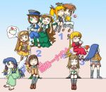 00s 6+girls air bird blonde_hair blue_hair chibi chicken closed_eyes fate_testarossa fujino_shizuru gokujou_seitokai heterochromia imageboard_colors kannabi_no_mikoto katsura_seina kuga_natsuki lyrical_nanoha mahou_shoujo_lyrical_nanoha multiple_girls my-hime nonowa pantyhose podium raising_heart re_mii redhead rozen_maiden saimoe saimoe_2005 school_uniform serafuku shinku souseiseki suiseiseki takamachi_nanoha trophy twintails wings zoids zoids_genesis