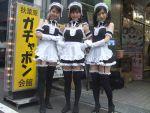 arm_garter black_legwear cosplay garter_belt kore_ga_watashi_no_goshujin-sama maid maid_headdress photo thigh-highs zettai_ryouiki