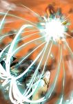 battle beam_spam explosion flying ikaruga ikaruga_(ship) laser space_craft spaceship