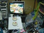 2d_dating cake food katori_rea lonely meal messy_room otaku_room parfait_chocolat_second_brew pastry photo