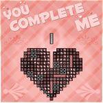 english heart highres oldschool tetris valentine