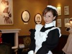 1girl cosplay cosplay_cafe emma emma_(victorian_romance_emma) glasses maid photo solo victorian_romance_emma