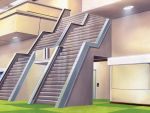 architecture error game_cg no_humans optical_illusion sakurazawa_izumi silence_(eroge) stairs still_life