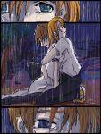 1boy 1girl couple hetero higurashi_no_naku_koro_ni lowres maebara_keiichi oekaki ryuuguu_rena