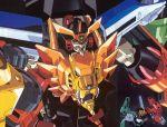 90s absurdres gaogaigar gekiryuujin_(gaogaigar) highres mecha no_humans super_robot yuusha_ou_gaogaigar yuusha_series