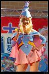 1girl cosplay dark_magician_girl dark_magician_girl_(cosplay) duel_monster pantyhose pentacle photo solo yu-gi-oh! yuu-gi-ou_duel_monsters