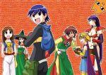 6+girls azumanga_daioh child chiyo_chichi chunsoft circlet cosplay dragon_quest dragon_quest_iii enix fighter_(dq3) fighter_(dq3)_(cosplay) kagura kagura_(azumanga_daiou) kasuga_ayumu mage_(dq3) mage_(dq3)_(cosplay) merchant_(dq3) merchant_(dq3)_(cosplay) mihama_chiyo mizuhara_koyomi multiple_girls parody roto roto_(cosplay) sakaki soldier_(dq3) soldier_(dq3)_(cosplay) takino_tomo thief_(dq3) thief_(dq3)_(cosplay)