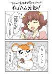 aka_(pixiv) aka_(pixiv193029) hamster hamtaro hamtaro_(hamtaro) haruna_hiroko translated translation_request