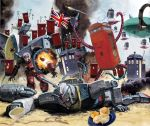 battle doctor_who explosion flag food futaba_channel gun guncannon gundam mechanization missile mobile_suit_gundam no_humans parody phone_booth photoshop plate rx-78-2 scone tardis tea union_jack united_kingdom weapon what white_base