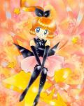 1girl 90s elbow_gloves gloves haneoka_meimi kaitou_saint_tail lowres magical_girl official_art pantyhose saint_tail solo tachikawa_megumi