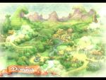 field game house landscape legend_of_mana letterboxed lowres mountain no_humans outdoors plant psx qvga river seiken_densetsu tree water