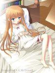 1girl barefoot evangeline_a_k_mcdowell feet flat_chest mahou_sensei_negima! masakichi_(crossroad) solo vampire