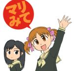 azumanga_daioh child crossover fukuzawa_yumi lowres maria-sama_ga_miteru mihama_chiyo ogasawara_sachiko parody sakaki short_twintails takahashi_ren twintails