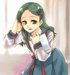 hair_ornament hairclip kimidori_emiri lowres school_uniform serafuku suzumiya_haruhi_no_yuuutsu