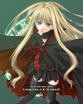 cape evangeline_a_k_mcdowell gothic gothic_lolita lolita_fashion mahou_sensei_negima! miniskirt skirt thigh-highs vampire yoshida_inuhito zettai_ryouiki