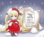 00s 1girl for_adoption imai_kazunari rozen_maiden shinku snow snowing solo translated