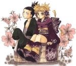 artist_request flower lowres nara_shikamaru naruto quad_tails temari