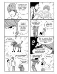 1girl 2boys comic death_note monochrome multiple_boys parody ryuk yagami_light