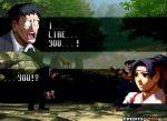 1boy 1girl azumanga_daioh fake_screenshot kimura king_of_fighters lowres outdoors parody ryuuko_no_ken snk svc_chaos the_king_of_fighters todoh_kasumi toudou_kasumi what