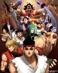 4girls 6+boys 90s alex_(street_fighter) ball bandage bare_shoulders barefoot belt bikini bikini_top black_eyes black_hair blonde_hair blue_eyes blush boots boxing_gloves bracelet breasts brown_eyes brown_hair bun_cover capcom china_dress chinese_clothes chun-li cleavage dark_skin double_bun dougi dress dudley elbow_gloves elena elena_(street_fighter) everyone everyone_fighting feet fingerless_gloves gill gloves glowing gouki green_eyes hat headband hugo_andore ibuki_(street_fighter) jewelry ken_masters kicking kunai long_hair makoto_(street_fighter) mask medium_breasts multiple_boys multiple_girls muscle necklace necro_(street_fighter) ninja oro oro_(street_fighter) panties pantyhose pantyshot q_(street_fighter) red_eyes redhead remy remy_(street_fighter) ring ryu_(ryu's_former_site) ryuu_(street_fighter) sean_matsuda shirt shoes short_hair silver_hair street_fighter street_fighter_ii street_fighter_ii_(series) street_fighter_iii street_fighter_iii:_2nd_impact street_fighter_iii:_3rd_strike street_fighter_iii_(series) street_fighter_zero street_fighter_zero_(series) street_fighter_zero_3 stretch swimsuit thigh-highs thighs trench_coat twelve under_boob underwear urien weapon white_hair yang_lee yun_lee