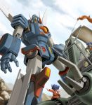 cockpit dorasu mecha rag_urao rust sentou_mecha_xabungle walker walker_machine xabungle_(mecha)