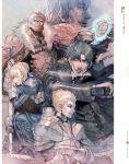 armor emiya_kiritsugu fate/stay_night fate/zero fate_(series) gilgamesh highres kotomine_kirei kurahana_chinatsu rider_(fate/zero) saber scan sword type-moon weapon