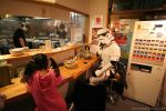 1girl 2boys asian cosplay danny_choo food multiple_boys noodles photo ramen star_wars stormtrooper what