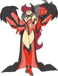 1girl artist_request female personification pokemon pokemon_(game) pokemon_xy solo source_request tagme yveltal