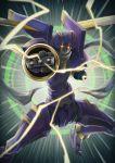 absurdres duel_monster highres junk_warrior mecha monster scarf skates solo sonia_(tyapatu0726) wings yu-gi-oh! yuu-gi-ou_5d's