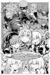 archer archer_of_red assassin_of_black asterios_(fate/grand_order) blush book cake caster_(fate/zero) drunk fate/apocrypha fate/extra fate/extra_ccc fate/grand_order fate/stay_night fate/zero fate_(series) food fuuma_kotarou_(fate/grand_order) greyscale jeanne_alter jeanne_alter_(santa_lily)_(fate) jing_ke_(fate/grand_order) kotomine_shirou leonidas_(fate/grand_order) long_hair looking_at_viewer mask mata_hari_(fate/grand_order) monochrome multiple_girls nursery_rhyme_(fate/extra) open_mouth ruler_(fate/apocrypha) ruler_(fate/grand_order) saber saint_martha sakata_kintoki_(fate/grand_order) shielder_(fate/grand_order) short_hair smile syatey tawara_touta_(fate/grand_order) translation_request ushiwakamaru_(fate/grand_order)