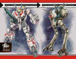 alien choujikuu_yousai_macross deviantart_username energy_cannon esbeliben gunpod insignia macross mecha realistic regult science_fiction signature u.n._spacy variable_fighter vf-1 vf-1j walker watermark zentradi