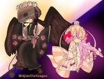 ballerina black_wings japanese_clothes kafuria kimono kurukuru-hime mahou_shoujo_ikusei_keikaku mahou_shoujo_ikusei_keikaku_jokers mahou_shoujo_ikusei_keikaku_limited moka_panda veil_over_eyes wings