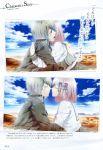 blue_eyes grey_hair koharu_(norn9) norn9 senri_ichinose teita