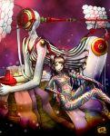 bodysuit himiko_(persona_4) kanzeon_(persona_4) kujikawa_rise persona persona_4 y-chan