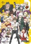 6+boys 6+girls ahoge amisaki_ryouko artist_check bandage bandaid bangs black_hair black_nails blonde_hair blush_stickers bow braid breasts brown_hair cleavage closed_eyes collarbone cover danganronpa danganronpa_3 dvd_cover everyone facial_hair fingernails floral_print formal freckles furisode glasses green_eyes hair_ornament hamster hanamura_teruteru hat heterochromia highres hinata_hajime japanese_clothes kimono koizumi_mahiru komaeda_nagito kuzuryuu_fuyuhiko long_fingernails long_hair looking_at_viewer mioda_ibuki mitarai_ryouta mole mole_under_eye multicolored_hair multiple_boys multiple_girls nail_polish nanami_chiaki nidai_nekomaru obese official_art one_eye_closed owari_akane pekoyama_peko pink_hair saionji_hiyoko school_uniform serafuku sharp_teeth short_hair silver_hair smile sonia_nevermind souda_kazuichi spoilers suit super_danganronpa_2 tanaka_gandamu teeth togami_byakuya_(super_danganronpa_2) tongue tongue_out tsumiki_mikan white_hair