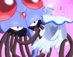 blush jellyfish nihilego pokemon pokemon_(game) pokemon_sm tentacle tentacruel ultra_beast