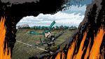 aircraft_carrier airplane fire grumman_martlet hatsune_miku historical_event hms_audacity military royal_navy rxjx sinking vocaloid world_war_ii