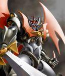 mazinkaiser mazinkaiser_(robot) mecha solo super_robot sword weapon