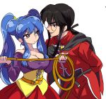 cosplay dragon_quest dragon_quest_viii highres jessica_albert jessica_albert_(cosplay) kukuru_(dq8) kukuru_(dq8)_(cosplay) mousse ranma_1/2 shampoo_(ranma_1/2)