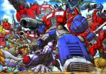 beast_wars don_figueroa evolution mecha optimus_primal optimus_prime transformers transformers_armada transformers_car_robots transformers_super-god_masterforce