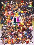 animal armor axe baseball_bat bayonetta bayonetta_(character) bayonetta_2 bird blue_eyes blue_hair bowser bowser_jr. boxing_gloves braid breasts brothers brown_hair cape captain_falcon charizard chiko_(mario) cloud_strife dark_pit dark_skin dog dog_(duck_hunt) donkey_kong doubutsu_no_mori dr._mario dress dual_persona duck_(duck_hunt) duck_hunt ears f-zero facial_hair falchion_(fire_emblem) falco_lombardi fighting_stance final_fantasy final_fantasy_vii fingerless_gloves fire_emblem fire_emblem:_akatsuki_no_megami fire_emblem:_fuuin_no_tsurugi fire_emblem:_kakusei fire_emblem:_monshou_no_nazo fire_emblem:_souen_no_kiseki fire_emblem_if fox_mccloud furry ganondorf gloves green_hair greninja gun hammer hat headband horns hybridmink ike iwata_satoru jigglypuff kid_icarus king_dedede kirby kirby_(series) link little_mac long_hair looking_at_viewer lucario lucas lucina luigi male_trainer_(wii_fit) mario mario_(series) marth master_sword meta_knight metroid mewtwo mii_(nintendo) mother_(game) mother_2 mother_3 mr._game_&_watch multiple_boys multiple_girls mustache my_unit_(fire_emblem:_kakusei) my_unit_(fire_emblem_if) ness nintendo olimar open_mouth pac-man palutena pikachu pikmin_(creature) pit_(kid_icarus) pokemon pokemon_(creature) pokemon_(game) polearm princess_peach princess_zelda punch-out!! r.o.b ragnell red_eyes redhead robot rockman_(character) rosetta_(mario) roy_(fire_emblem) ryuu_(street_fighter) samus_aran sheik shield short_hair shulk siblings smile sonic sonic_the_hedgehog spear star_fox street_fighter super_mario_bros. super_mario_galaxy super_smash_bros. sword the_legend_of_zelda the_legend_of_zelda:_twilight_princess toon_link twintails varia_suit villager_(doubutsu_no_mori) wario weapon white_hair wii_fit wii_fit_trainer wings yoshi zero_suit