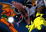 metroid pikachu pokemon ridley samus_aran super_smash_bros.